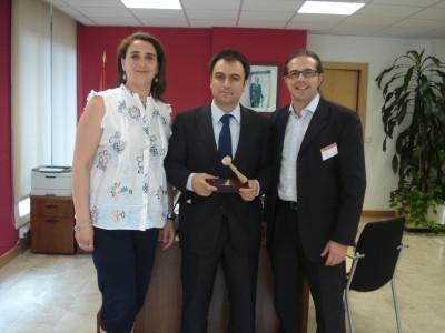 Juani, David del Campo y Luciano