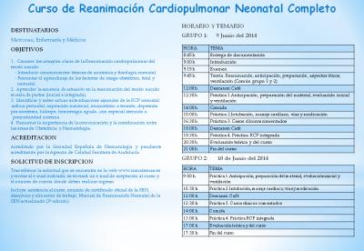 Díptico del Curso de RCP neonatal completa (1)