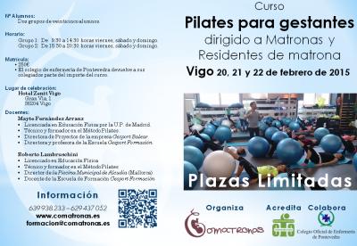 VIGO: Pilates para embarzadas dirigido a matronas