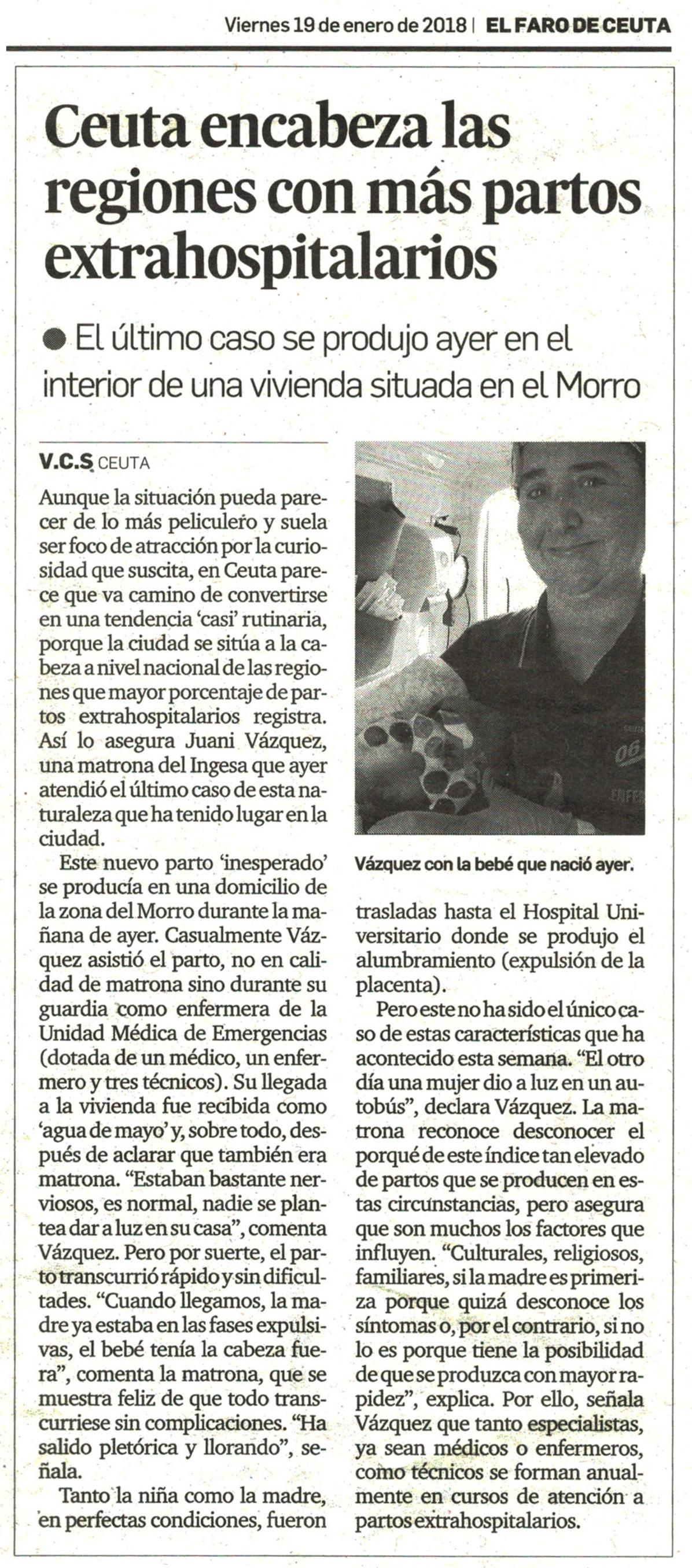 Entrevista Juani Vázquez Faro de Ceuta